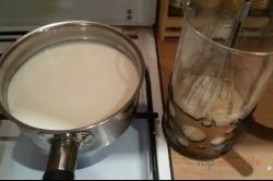 Zubereitung des Rezepts Vanillepudding-Apfel-Kuchen, schritt 2