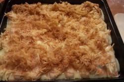Zubereitung des Rezepts Vanillepudding-Apfel-Kuchen, schritt 6