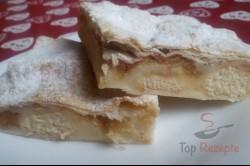 Zubereitung des Rezepts Vanillepudding-Apfel-Kuchen, schritt 9