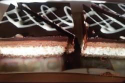 Zubereitung des Rezepts Kokos-Creme-Kuchen – Fotoanleitung, schritt 12