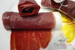 Zubereitung des Rezepts Gesunde selbstgemachte Frucht-Röllchen aus nur 2 Zutaten (Videoanleitung), schritt 11