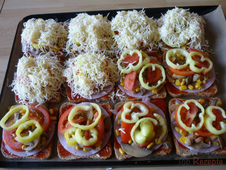 Toastbrot-Pizza | Top-Rezepte.de