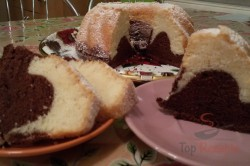 Zubereitung des Rezepts Einfacher Biskuit-Gugelhupf, schritt 7