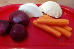 Zubereitung des Rezepts Fettfressender Gemüsesalat, der den Stoffwechsel anregt und mit der Figur Wunder macht, schritt 1