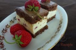 Zubereitung des Rezepts Köstlicher Schokokuchen mit Creme und Erdbeeren, schritt 1