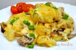 Zubereitung des Rezepts Schmackhafter Kartoffelauflauf: Seitdem ich diese verbesserte Version probiert habe, haben andere Kartoffelaufläufe keine Chance!, schritt 4