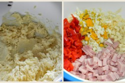 Zubereitung des Rezepts Gefüllte Käserolle, schritt 1