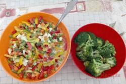Zubereitung des Rezepts Brokkoliauflauf mit Gemüse und Ei, schritt 2