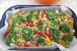 Zubereitung des Rezepts Brokkoliauflauf mit Gemüse und Ei, schritt 3