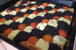 Zubereitung des Rezepts Hefekuchen mit Mohn, Aprikosen und Quark, schritt 8
