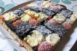 Zubereitung des Rezepts Hefekuchen mit Mohn, Aprikosen und Quark, schritt 9