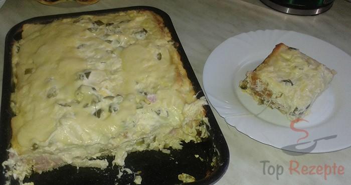 Herzhafter Schinken Kase Toastkuchen Top Rezepte De