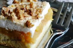 Zubereitung des Rezepts Apfelschnitten mit Schneehaube und Nüssen, schritt 7