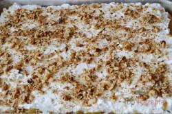 Zubereitung des Rezepts Apfelschnitten mit Schneehaube und Nüssen, schritt 6