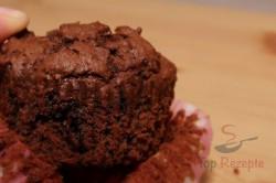 Zubereitung des Rezepts Schokoladenmuffins, schritt 3