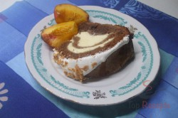 Zubereitung des Rezepts Schoko-Gugelhupf mit Käsekuchenfüllung – ein alter guter Klassiker, schritt 5