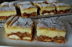 Zubereitung des Rezepts Apfel-Pudding-Kuchen mit Blätterteig, schritt 1