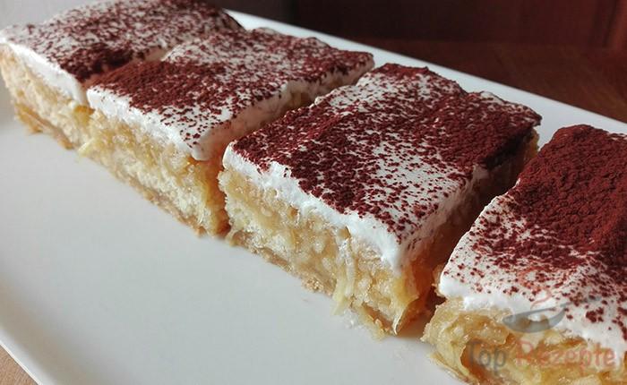 Express Apfelkuchen Mit Vanillepudding Top Rezepte De