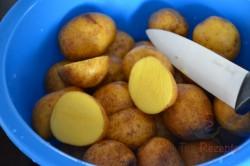 Zubereitung des Rezepts Backkartoffeln mit französischer Soße, schritt 1
