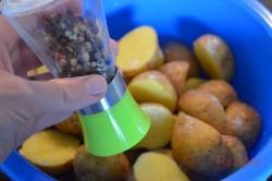 Zubereitung des Rezepts Backkartoffeln mit französischer Soße, schritt 3