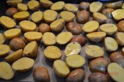 Zubereitung des Rezepts Backkartoffeln mit französischer Soße, schritt 4