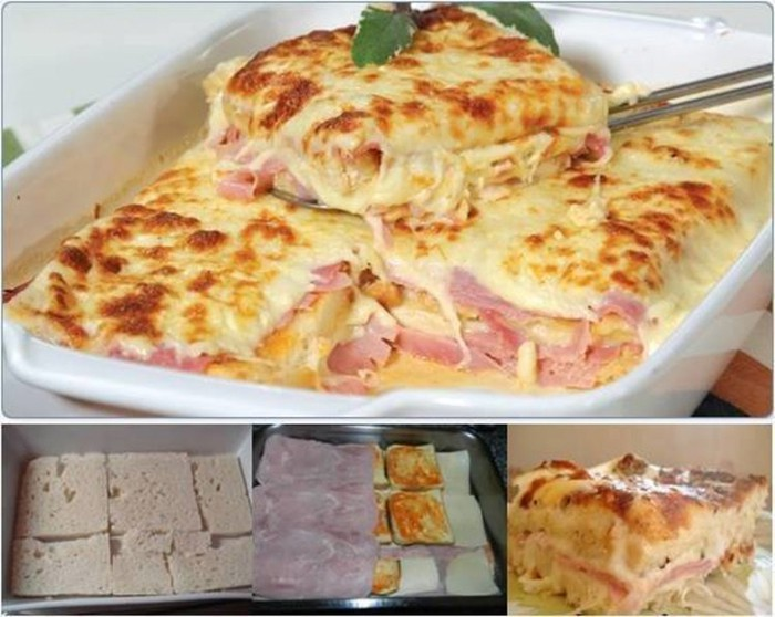 Sandwich lasagne in 15 minuten top for Leichte warme gerichte