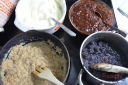 Zubereitung des Rezepts Slowakischer Weihnachtskuchen mit vier unterschiedlichen Füllungen, schritt 3