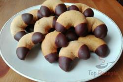 Zubereitung des Rezepts Honigkipferl mit Schokoladenenden - FOTOANLEITUNG, schritt 9