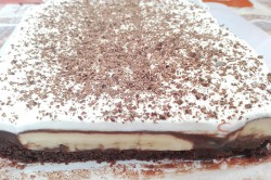 Zubereitung des Rezepts Einfaches Dessert mit Bananen und Schokoladencreme, schritt 2