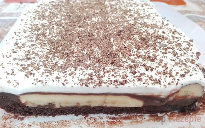 Einfaches Dessert Mit Bananen Und Schokoladencreme Top Rezepte De