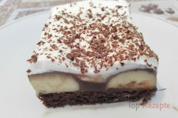 Zubereitung des Rezepts Einfaches Dessert mit Bananen und Schokoladencreme, schritt 3