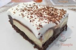 Zubereitung des Rezepts Einfaches Dessert mit Bananen und Schokoladencreme, schritt 4