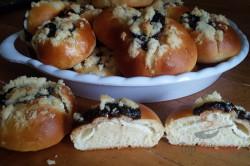 Zubereitung des Rezepts Böhmische Kolatschen mit Doppelfüllung, schritt 16