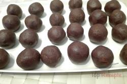 Zubereitung des Rezepts Pudding-Nuss-Kugeln ohne Backen, schritt 1