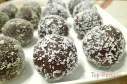 Zubereitung des Rezepts Pudding-Nuss-Kugeln ohne Backen, schritt 4