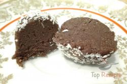 Zubereitung des Rezepts Pudding-Nuss-Kugeln ohne Backen, schritt 5