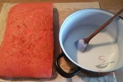 Zubereitung des Rezepts Einfache Punschschnitten, schritt 8