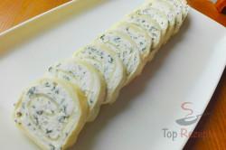 Zubereitung des Rezepts Käserolle mit Meerrettich-Füllung, schritt 2