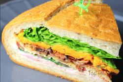 Zubereitung des Rezepts Das perfekte Party Sandwich, mit dem ihr punkten werdet, schritt 11