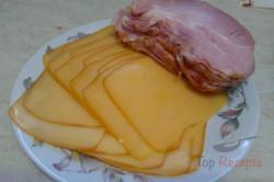 Zubereitung des Rezepts Schweinefleisch mit Räucherkäse und Rauchfleisch, schritt 3