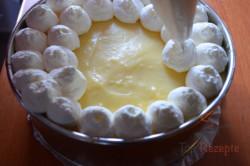 Zubereitung des Rezepts Wunderbare Bananentorte ohne Backen, schritt 6