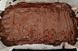 Ein einfaches und dabei so tolles Rezept für einen Pudding-Kuchen mit saurer Sahne, schritt 2