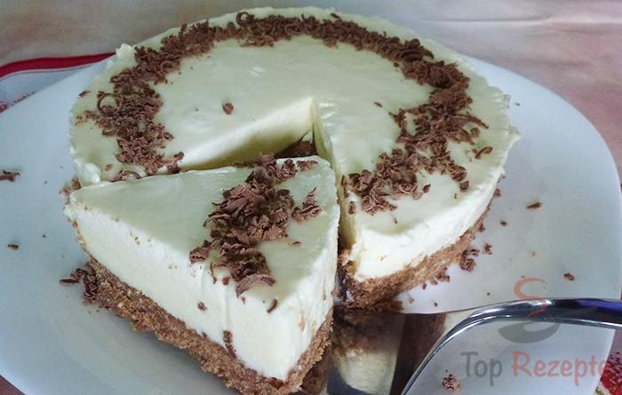 Wunderbare Torte Aus Weisser Schokolade Ohne Backen Top Rezepte De