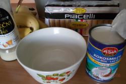 Zubereitung des Rezepts Kokos-Bananen-Tiramisu – mit Fotoanleitung, schritt 4