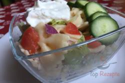 Zubereitung des Rezepts Einfacher Sommer-Nudelsalat in 20 Minuten zubereitet, schritt 6