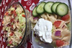 Zubereitung des Rezepts Einfacher Sommer-Nudelsalat in 20 Minuten zubereitet, schritt 7