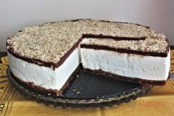 Zubereitung des Rezepts Wunderbarer Nougat-Cheesecake, schritt 5