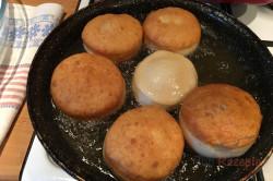 Ein altes Familienrezept für günstige und fluffige Berliner Pfannkuchen, schritt 5