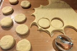 Ein altes Familienrezept für günstige und fluffige Berliner Pfannkuchen, schritt 4
