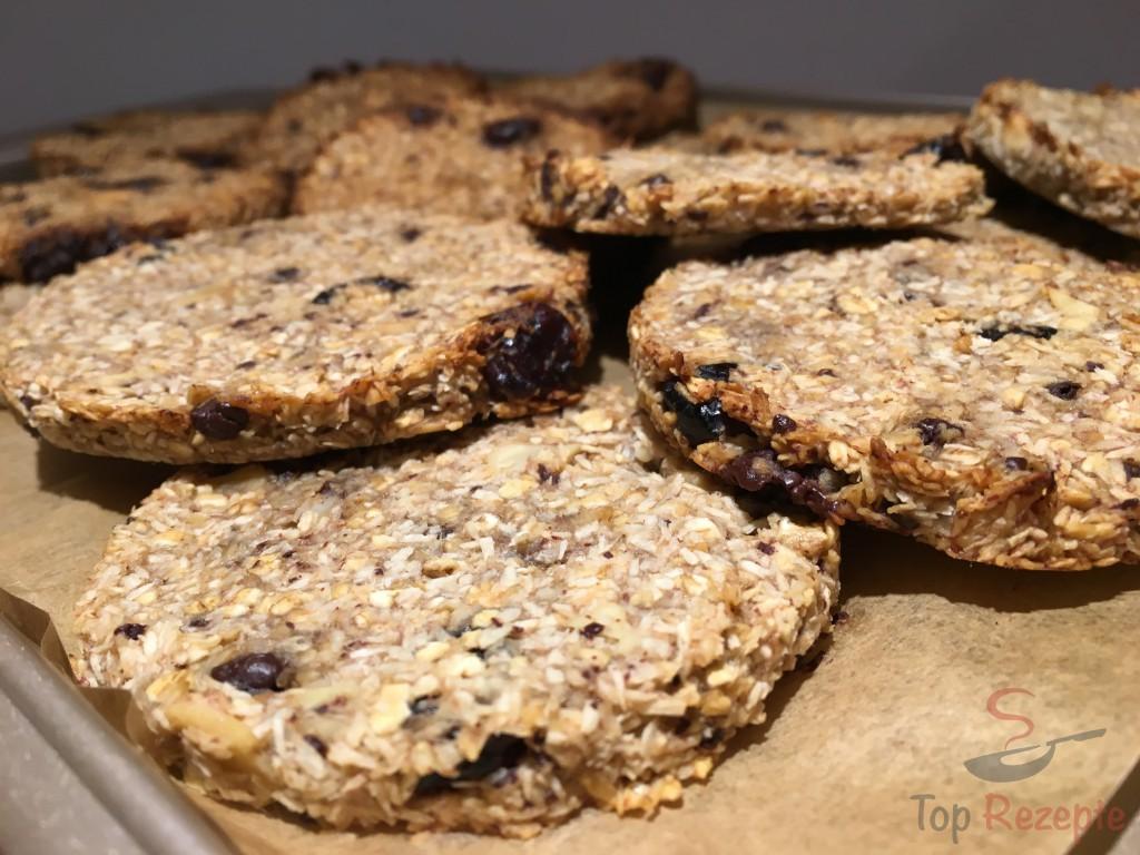 Ein Gesunder Snack Banane Kokos Cookies Ohne Zucker Und Ohne Eier